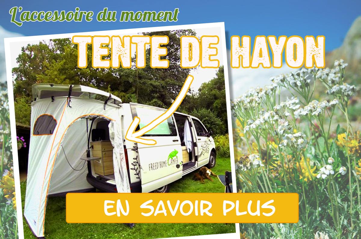 L'accessoire du moment : la Tente de Hayon