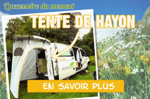 Option tente de hayon pour les vans Volkswagen de Freedom Camper