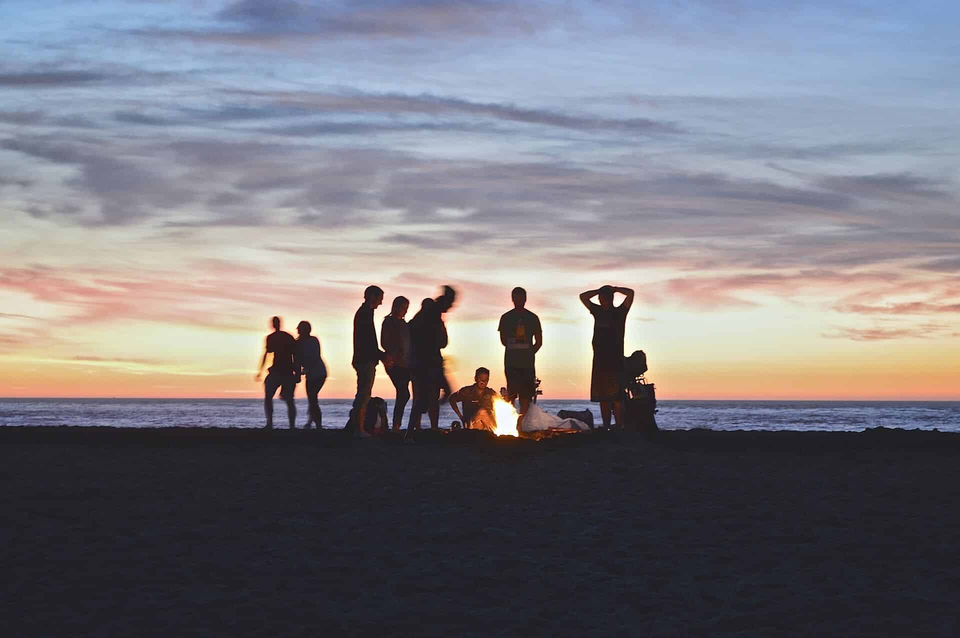 Découvrez la vanlife : des roadtrips en van aménagé Freedom Camper en bord de plage par exemple !