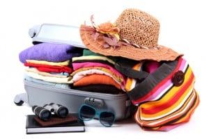 Gardiennage valise et bagage durant le road trip en fourgon équipé