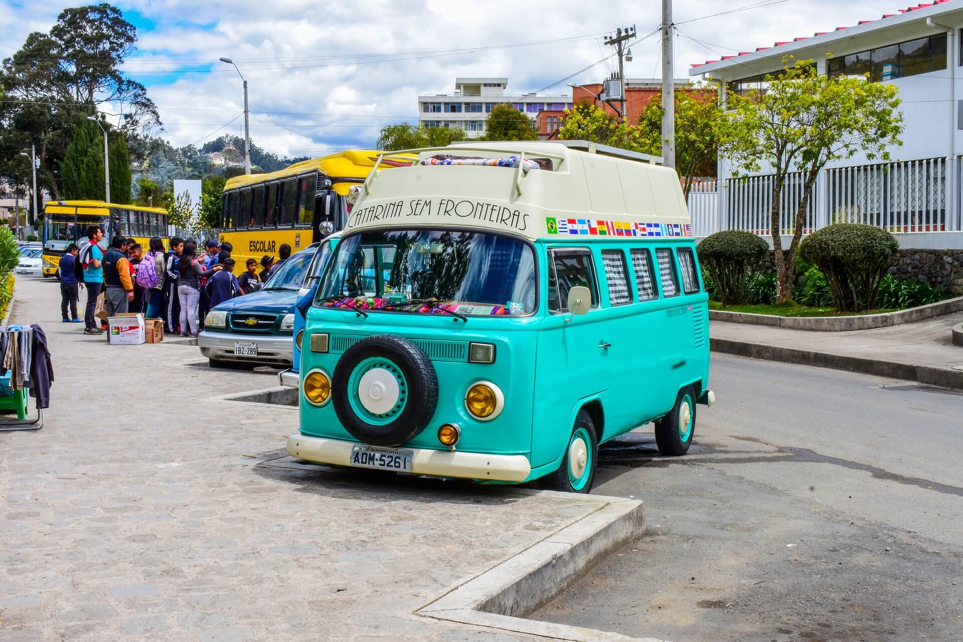 Un Van en Amérique latine