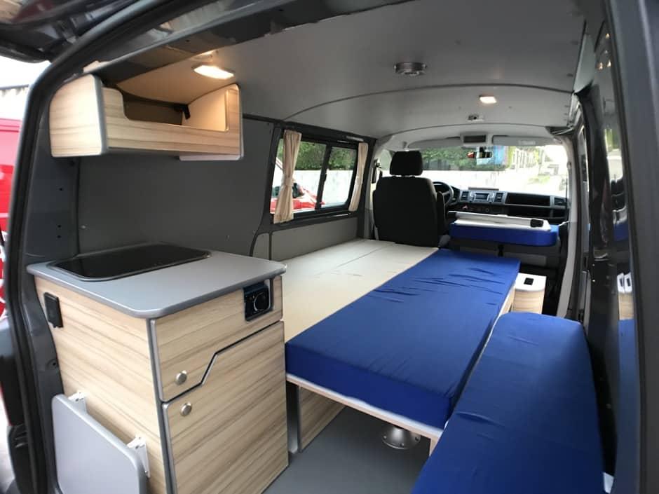 Banquette-amenagement-North-VanMania Le bon aménagement pour votre van